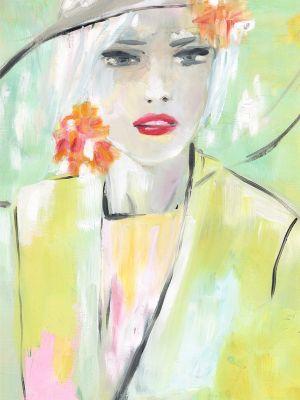 Portrait mit Öl gemalt
